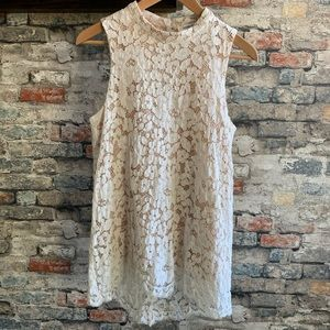 Rose & Olive Ivory Lace Top